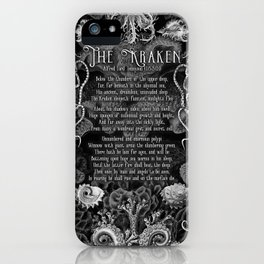 The Kraken (Black) iPhone Case