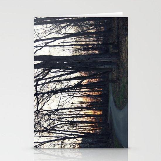 Naked Sunset Stationery Cards