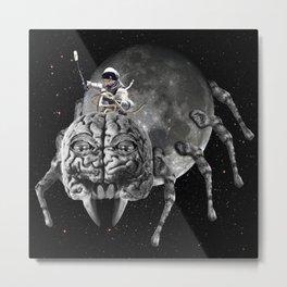 Astrospidernaut Metal Print