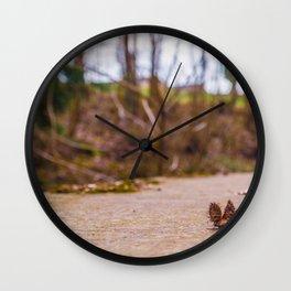 Nutshells on a wall Wall Clock
