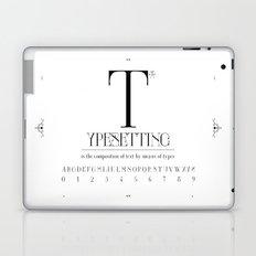 Type Laptop & iPad Skin