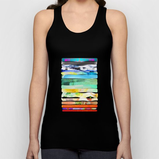COLLAGE LOVE - a Princess and a pea  Unisex Tank Top