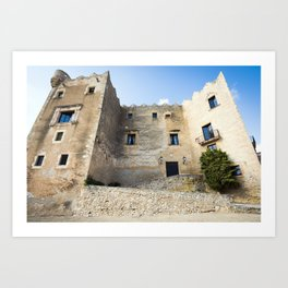 Spanish Building Art Print