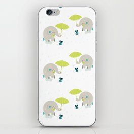 Rain Pattern iPhone Skin