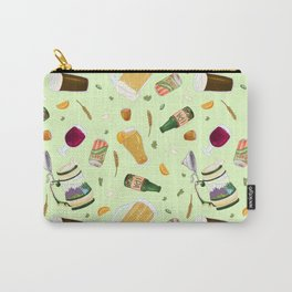 Cute Beer Pattern Carry-All Pouch