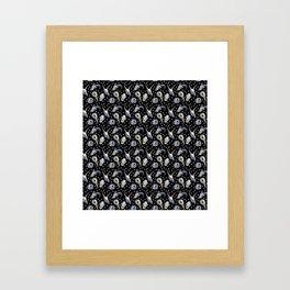 Animal Skulls Pattern Framed Art Print