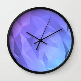 I Love Low Poly Wall Clock