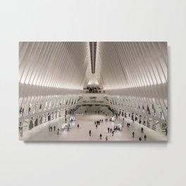 Westfield World Trade Center, NYC Metal Print