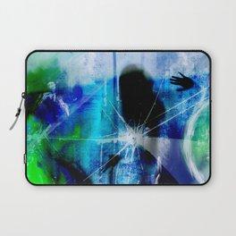 Behind broken glass Laptop Sleeve
