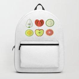 Fresh Fruits and Vegetables Backpack