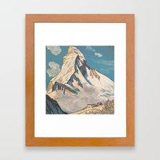 Night Mountains No. 45 Framed Art Print