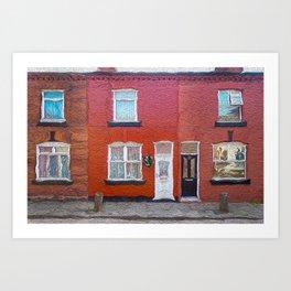 George's Boyhood Home Art Print