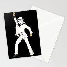 saturday night trooper _ star wars Stationery Cards