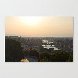 firenze - summer Canvas Print