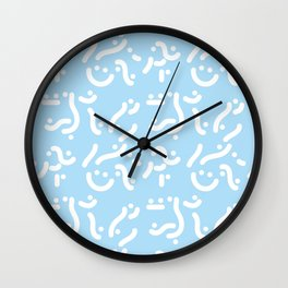 Curvers/ lines/ runners Wall Clock