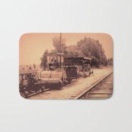Old Railroad Relic II Bath Mat