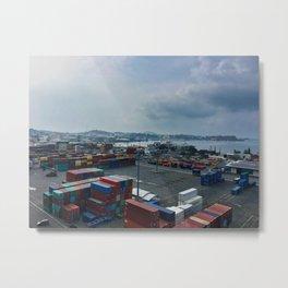 Port Of Noumea Metal Print