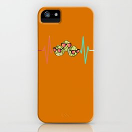 Brussels sprouts cabbage heartbeat iPhone Case