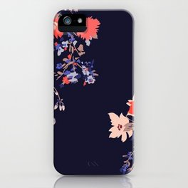 Colorful Night Roses iPhone Case