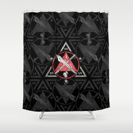 Filipino Martial Arts, Kali - Eskrima - Arnis, FMA Shower Curtain