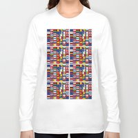 europe Long Sleeve T-shirts featuring Europe/Europa by MehrFarbeimLeben