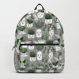 Face Vase Backpack
