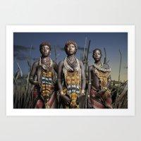 Hamer Beauty Art Print