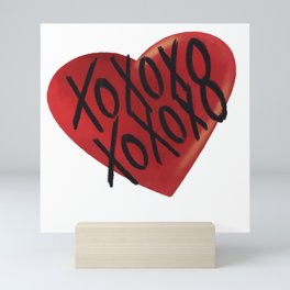 All my love Mini Art Print