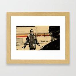 Wanna cook? Framed Art Print