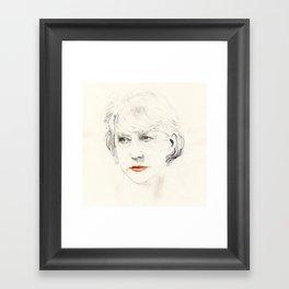 Helen Mirren Framed Art Print