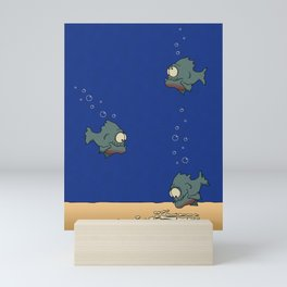 Feed The Fish Mini Art Print