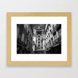 Elevador Santa Justa Framed Art Print