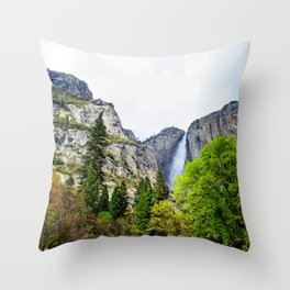Yosemite Glory Throw Pillow