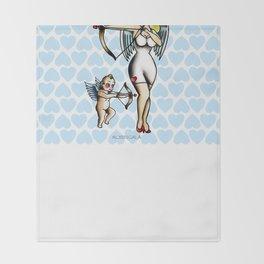 Cupids Throw Blanket