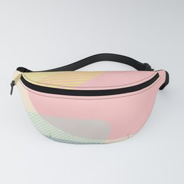 Lost In Shapes #society6 #buyart Fanny Pack