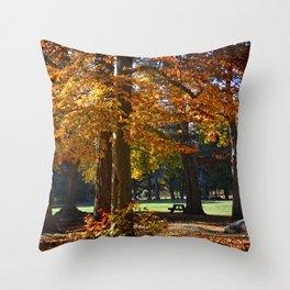 Autumn's Smile Throw Pillow