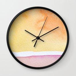 Sea Dawn Wall Clock