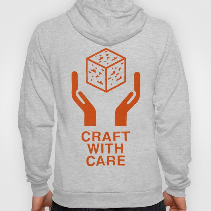 Craft With Care (Orange) Hoody