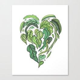 Hard Love II Canvas Print