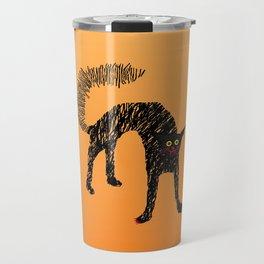 Black Cat 01 Travel Mug