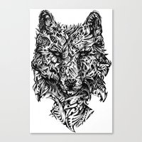 hunter Canvas Prints featuring Hunter by René Campbell Art