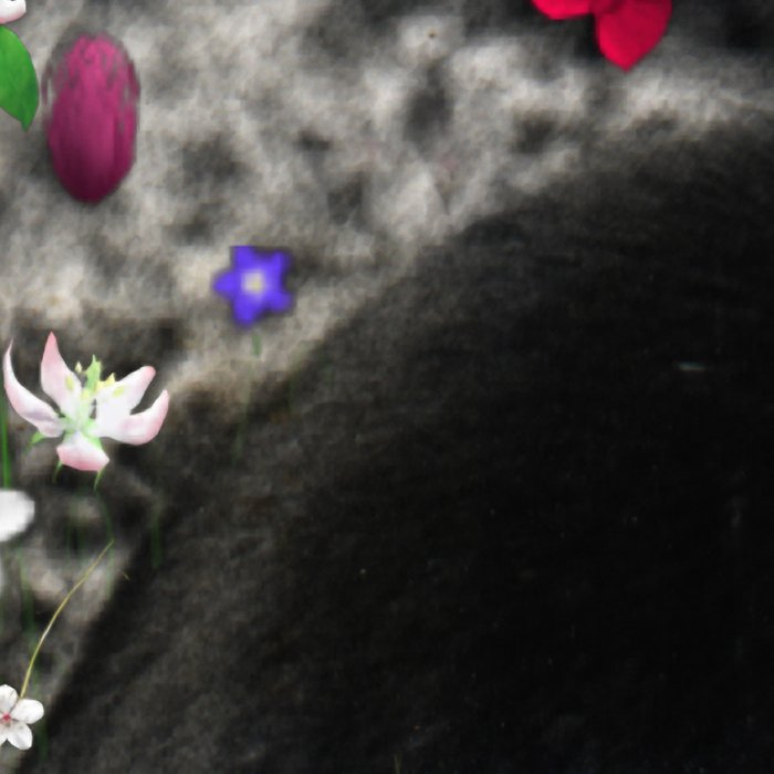 Freckles in Flowers II - Tuxedo Kitty Cat Leggings
