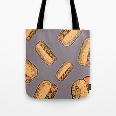 THERE'S ALWAYS TIME FOR A HOT-DOG! - LILAC Tote Bag