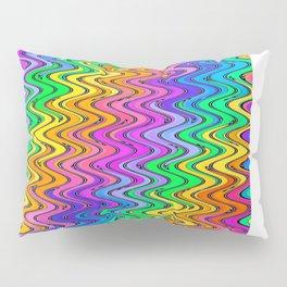 WAVY #2 (Multicolor Light) Pillow Sham