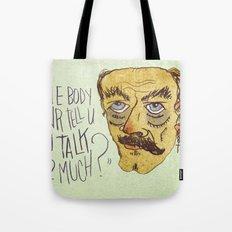 U TLK 2 MCH Tote Bag