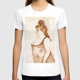 Henri de Toulouse-Lautrec - Mademoiselle Cocyte in La Belle Hélène T-shirt