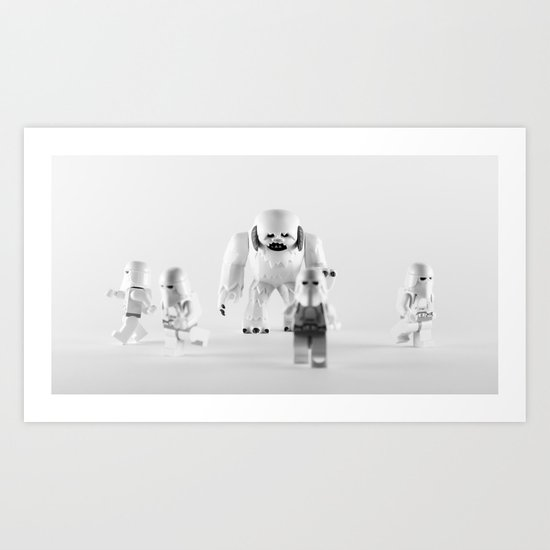 Run! Art Print