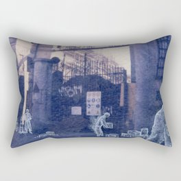 The city remembers; magazzini generali Rectangular Pillow