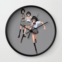 Rukia GO! Wall Clock
