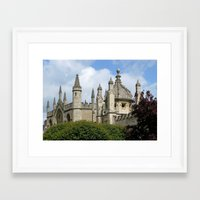 spires Framed Art Prints featuring Oxford Spires by Ann Horn
